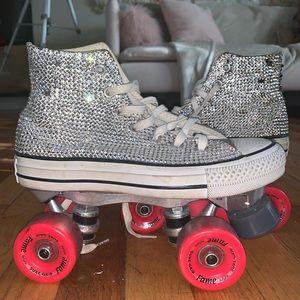 Custom Bling Chuck Taylor Skates